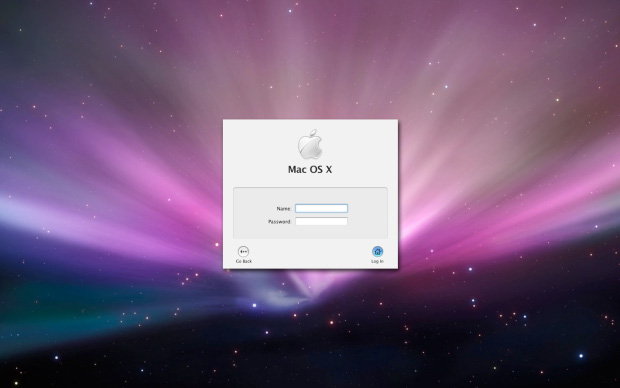 Mac OS X Login